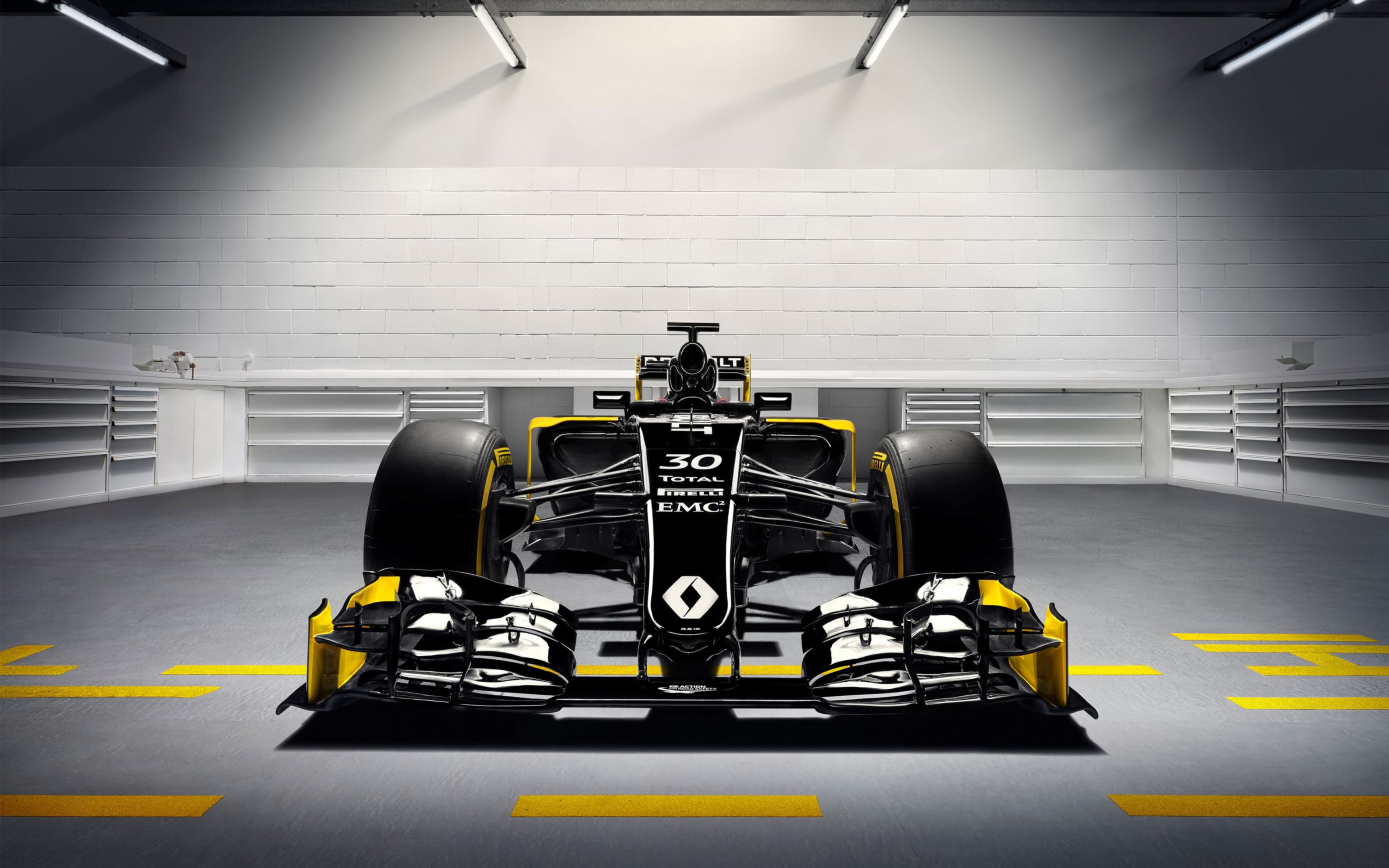 Download free HD 2016 Renault Rs16 Formula 1 Car Wide Wallpaper, image