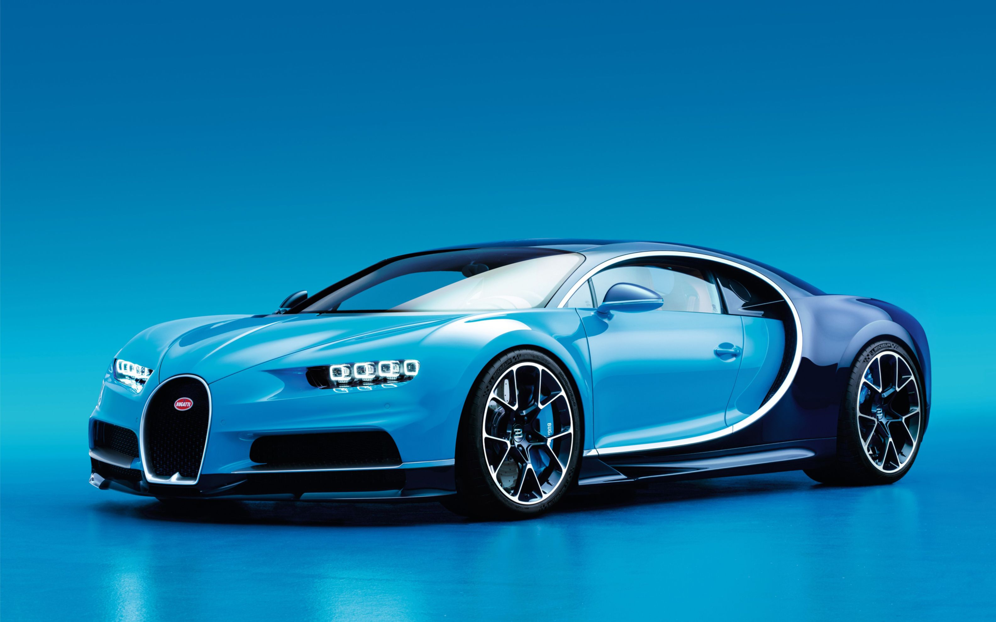 Download free HD 2017 Bugatti Chiron Wide Wallpaper, image