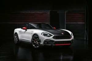 2017 FiAT 124 Spider Abarth Wide Wallpaper