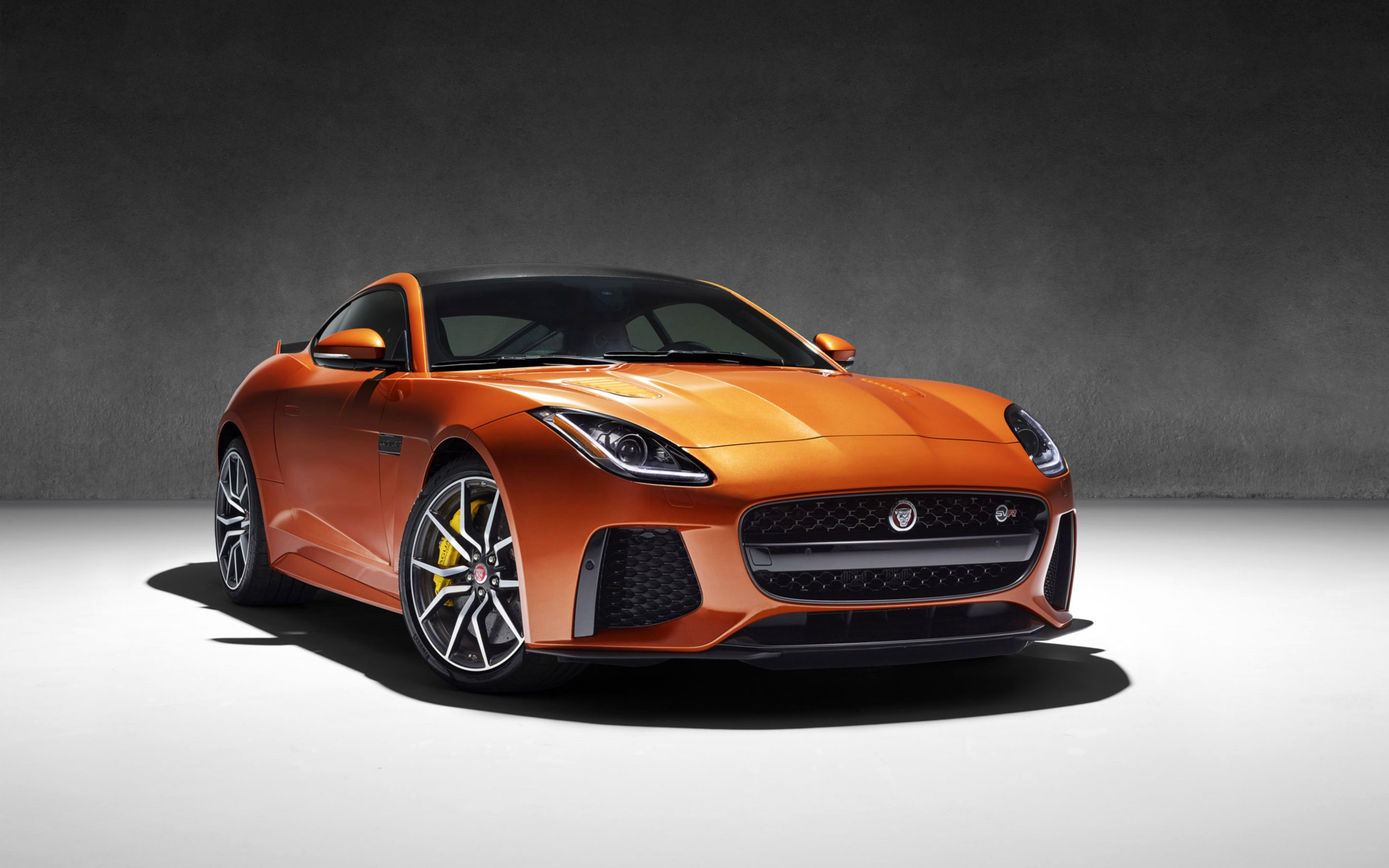 2017 jaguar f type svr wide wallpaper: desktop hd wallpaper