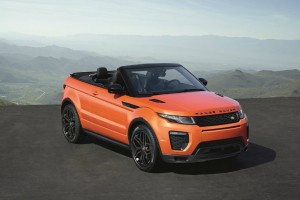 2017 Land Rover Range Rover Evoque Convertible  Wallpaper