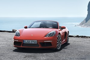 2017 Porsche 718 Boxster Wide Wallpaper