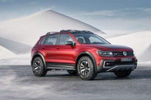 Download 2017 Volkswagen Tiguan Gte Active Concept HD Wallpaper Free Wallpaper on dailyhdwallpaper.com