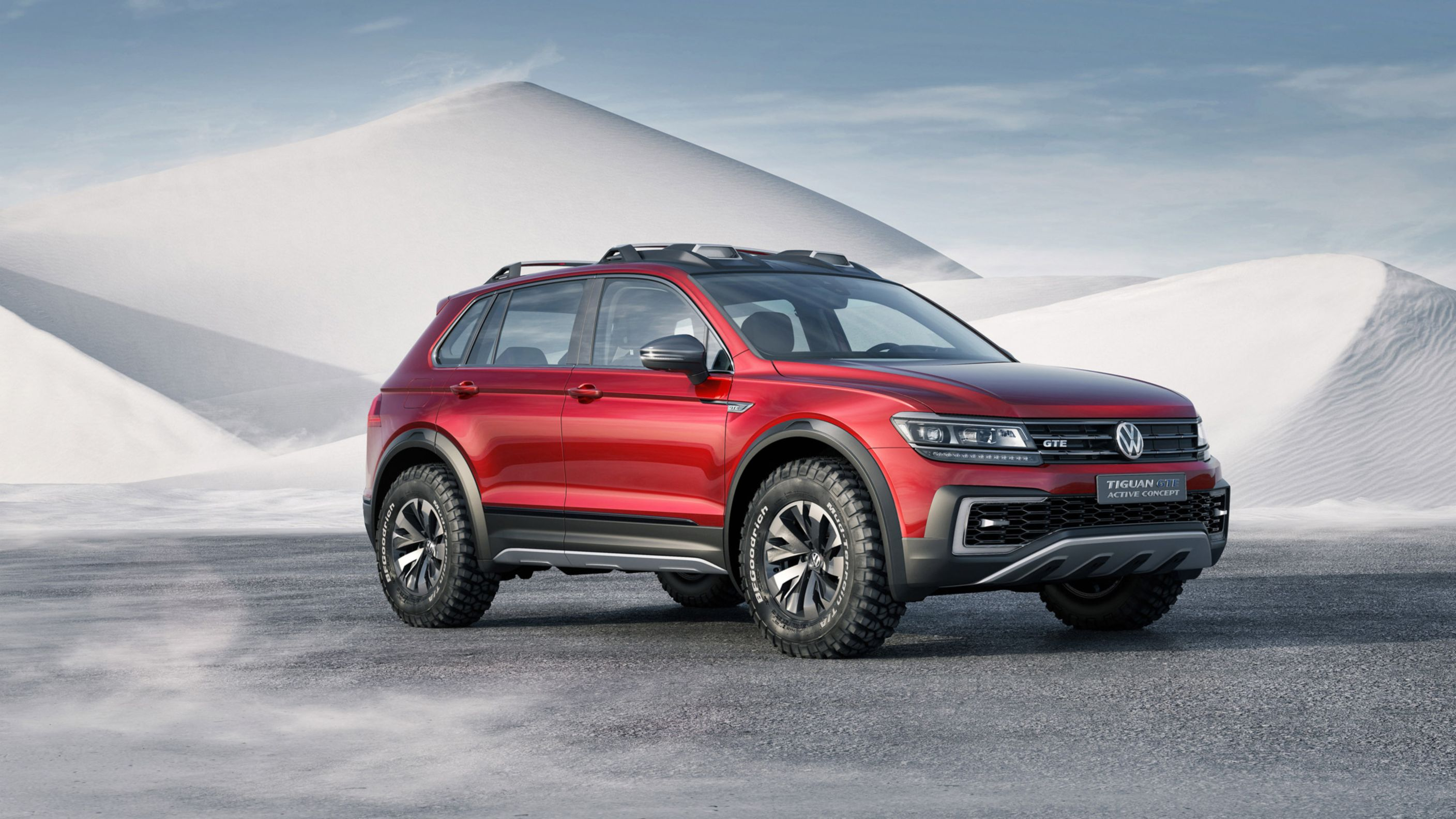 Download free HD 2017 Volkswagen Tiguan Gte Active Concept HD Wallpaper, image