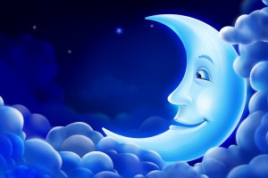 Download 3D Blue Moon Background for Computer Wallpaper Free Wallpaper on dailyhdwallpaper.com
