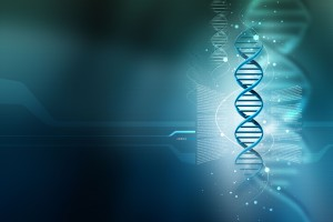 3D DNA Wide Wallpaper