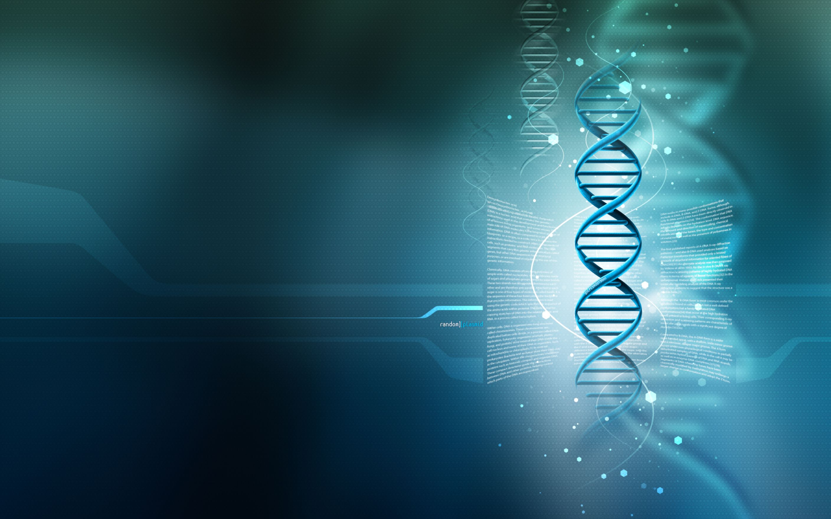 Download free HD 3D DNA Wide Wallpaper, image