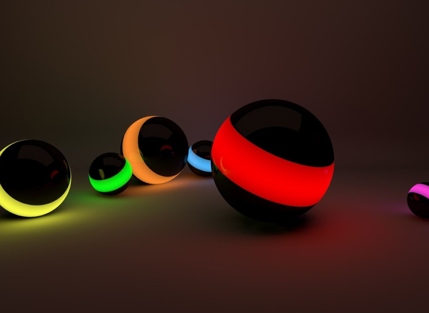 3d Hd Colorful Ball For Laptop Free Download Wallpaper
