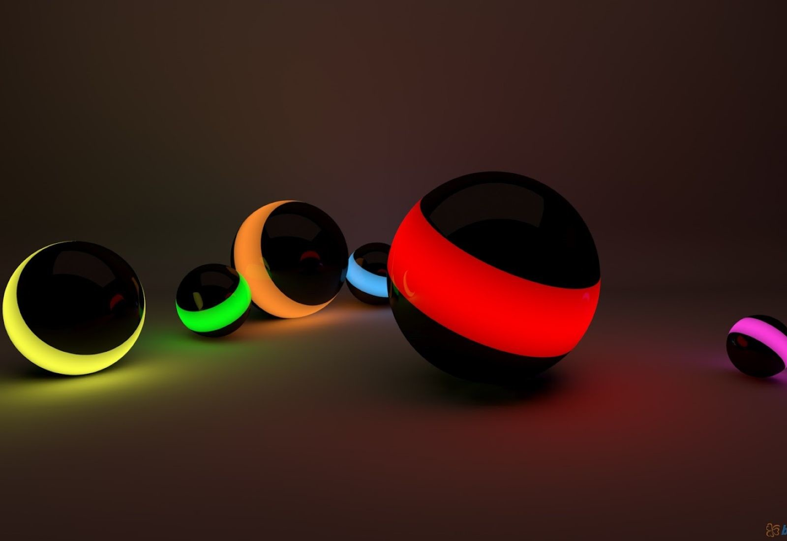 3d hd colorful ball for laptop free download wallpaper for Wallpaper 3d para pc