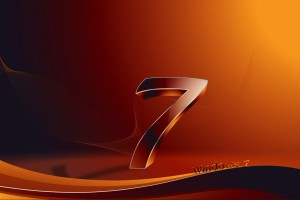 3D Windows 7 Wide Wallpaper