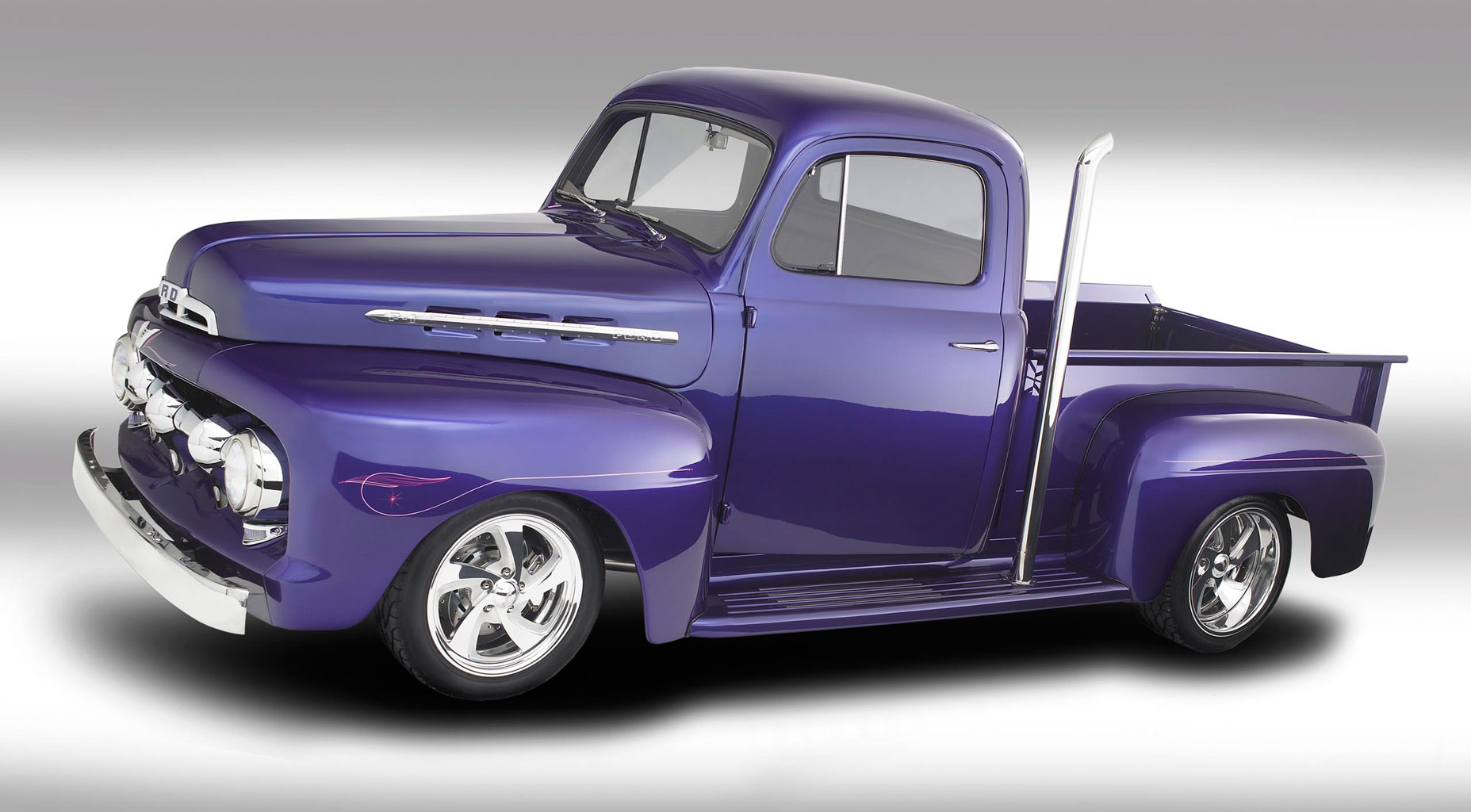 3D Ford Pickup Trucks Wallpaper