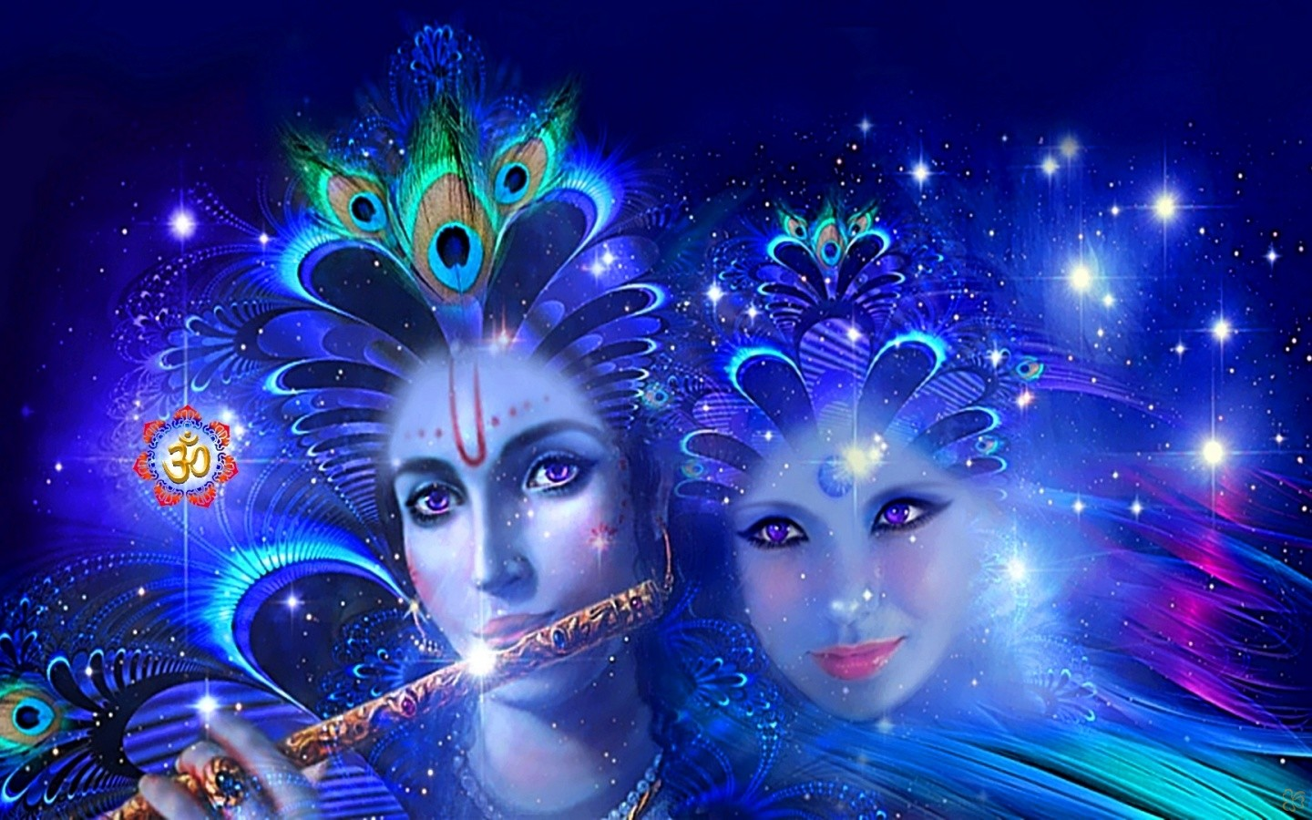 3D HD Radha Krishna Wallpaper: Desktop HD Wallpaper