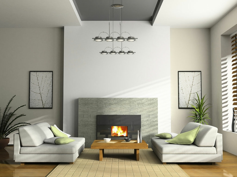 3D Room Home Design Wallpaper