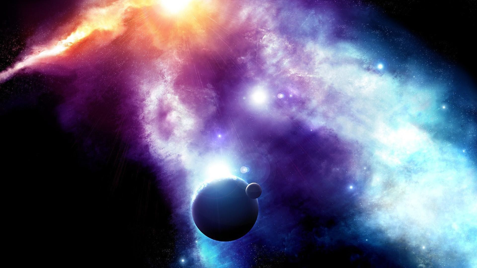 3D Space Android Wallpaper