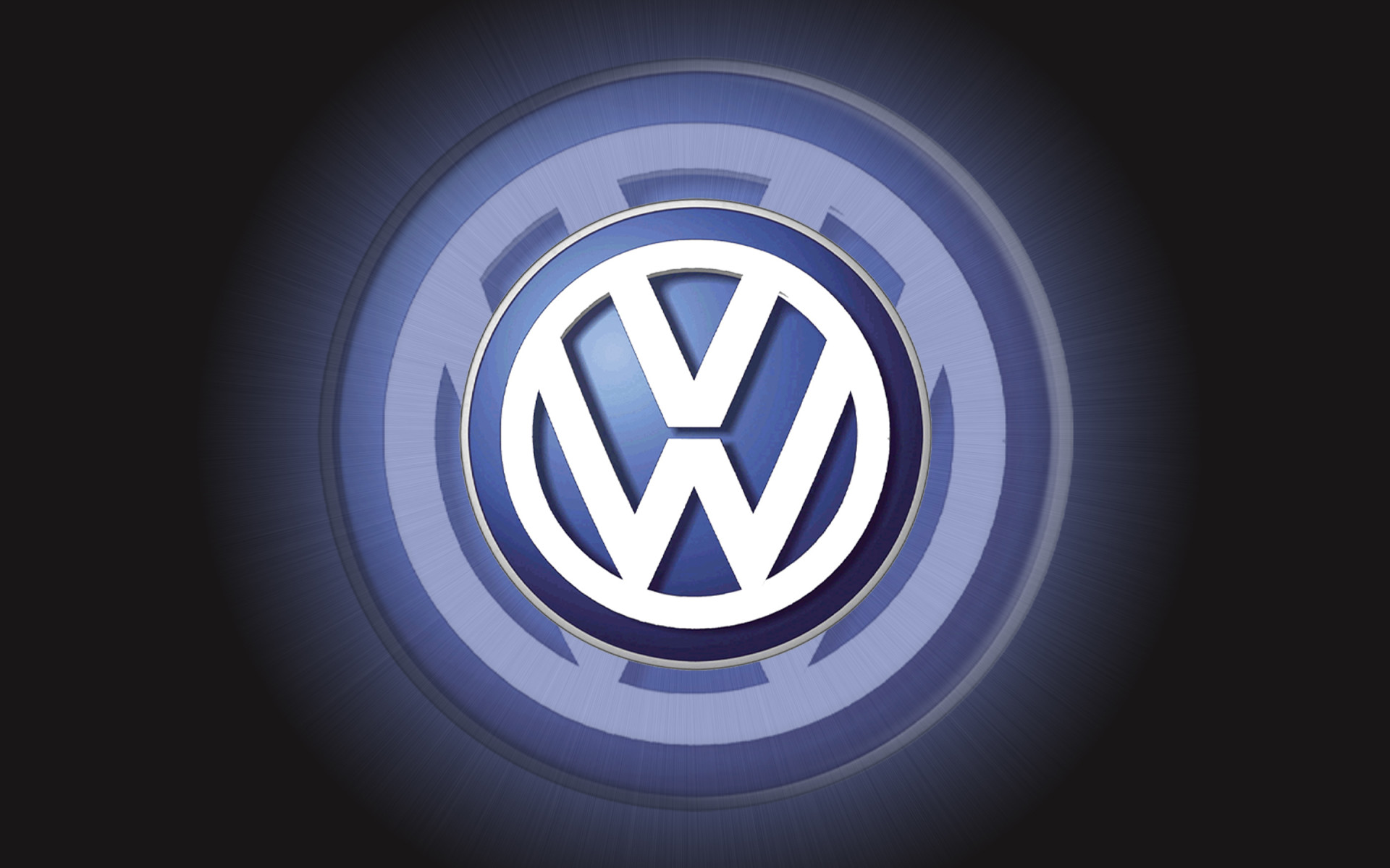 3D VW Logo iPhone Wallpaper