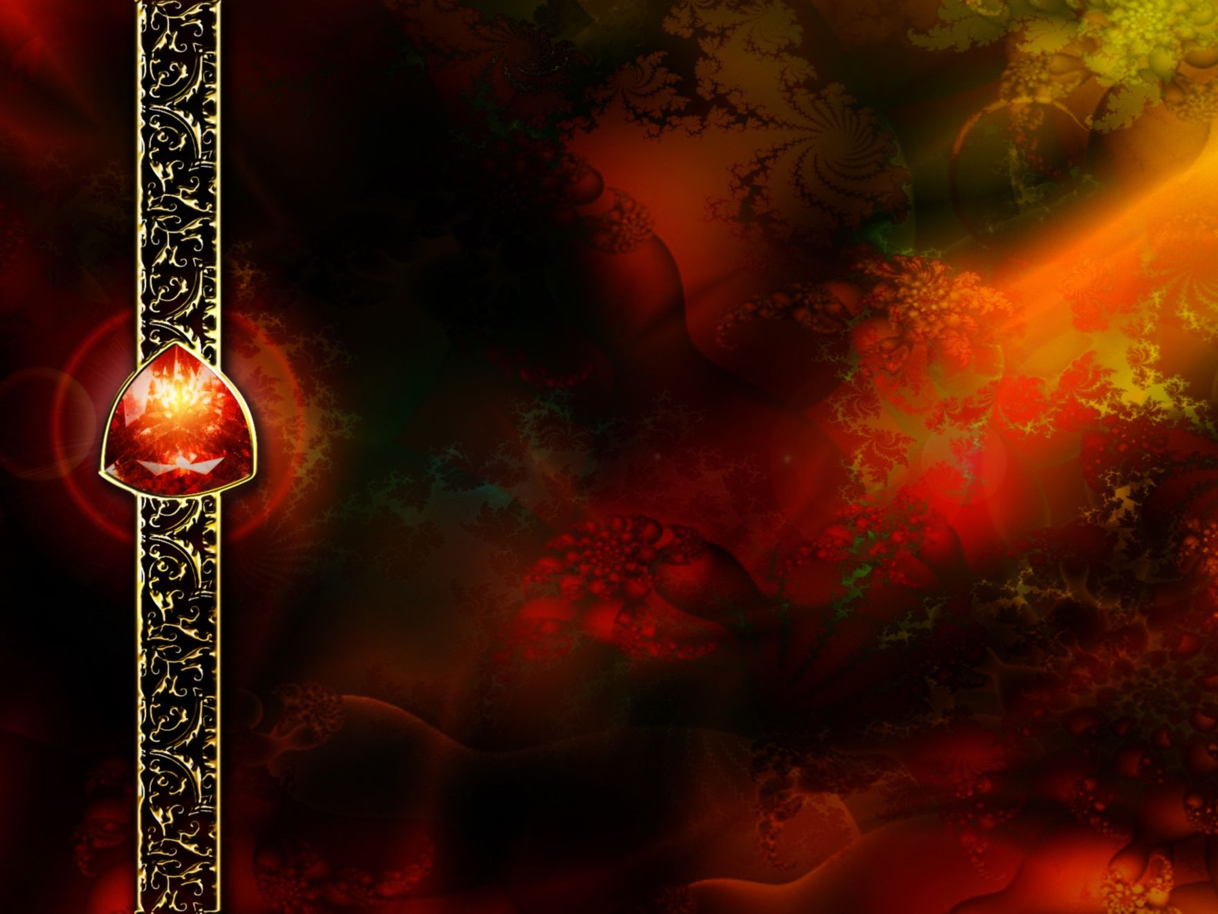 Download free HD Abstract Fractals 3 Normal Wallpaper, image