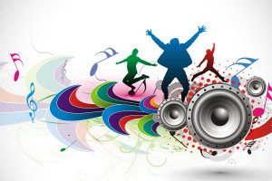 Abstract Music S White Background Wallpaper