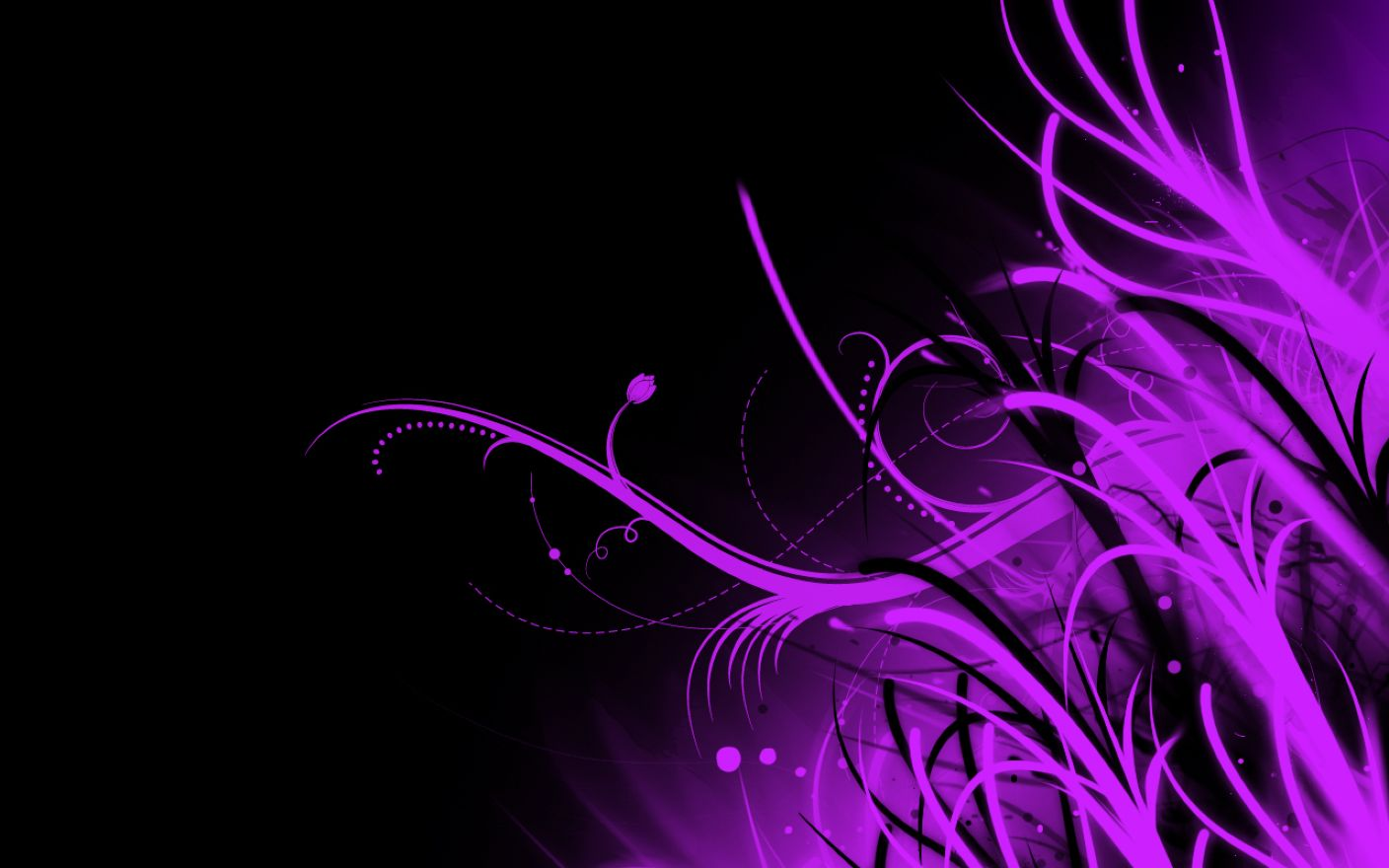 Abstract Purple 1280×800 Wallpaper