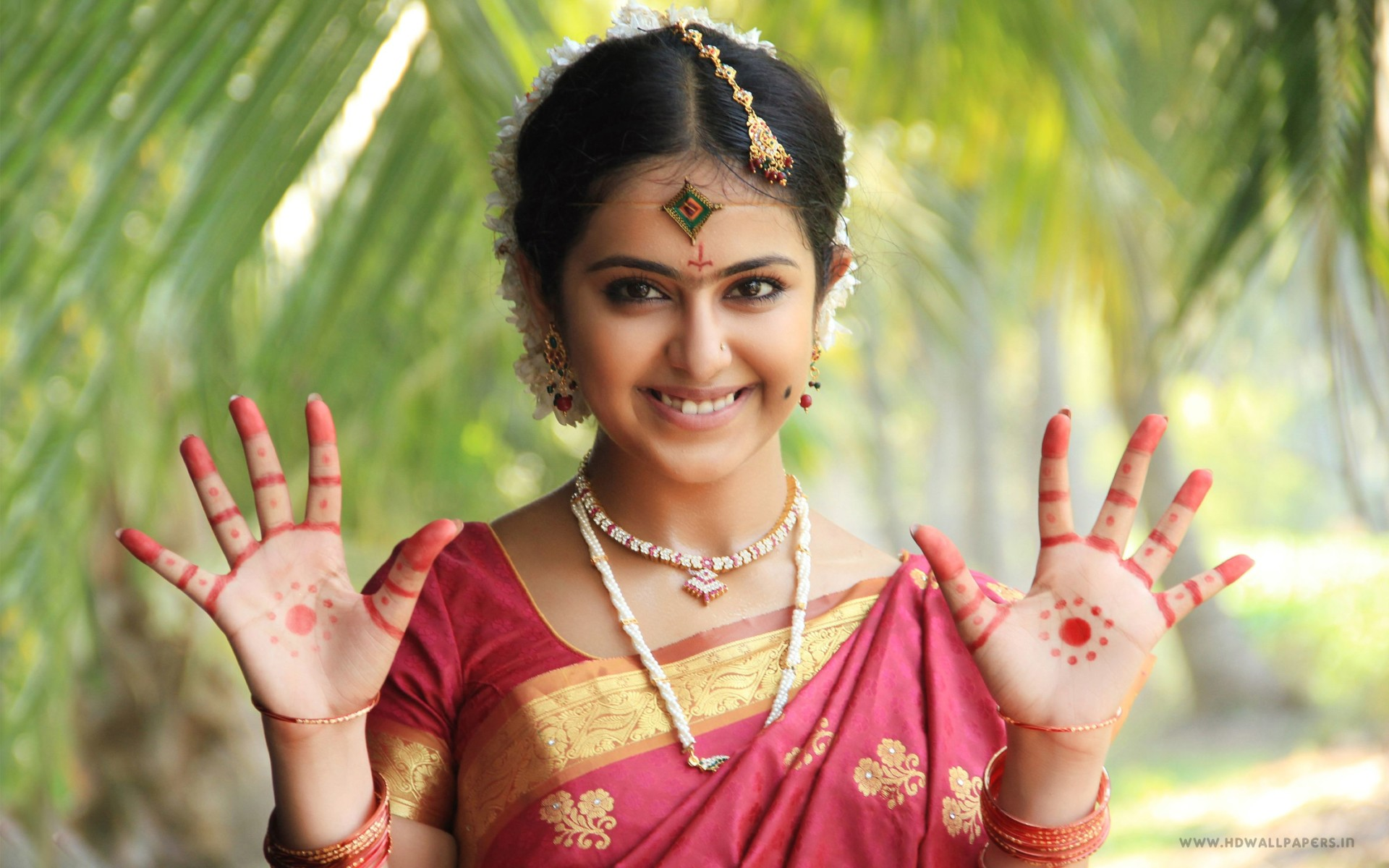 Actress Avika Gor Wide Wallpaper