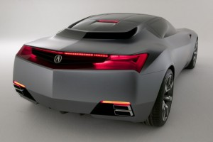 Acura Concept Car Wide Wallpaper