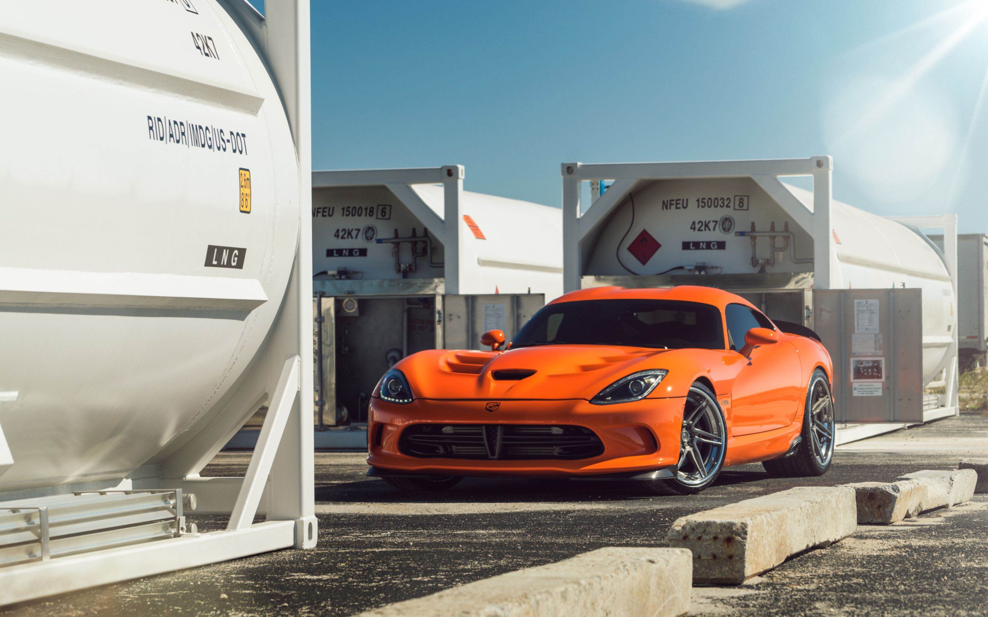 Download free HD Adv1 Wheels Dodge Viper Wide Wallpaper, image