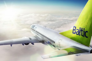 Airbaltic Airplane Wallpaper
