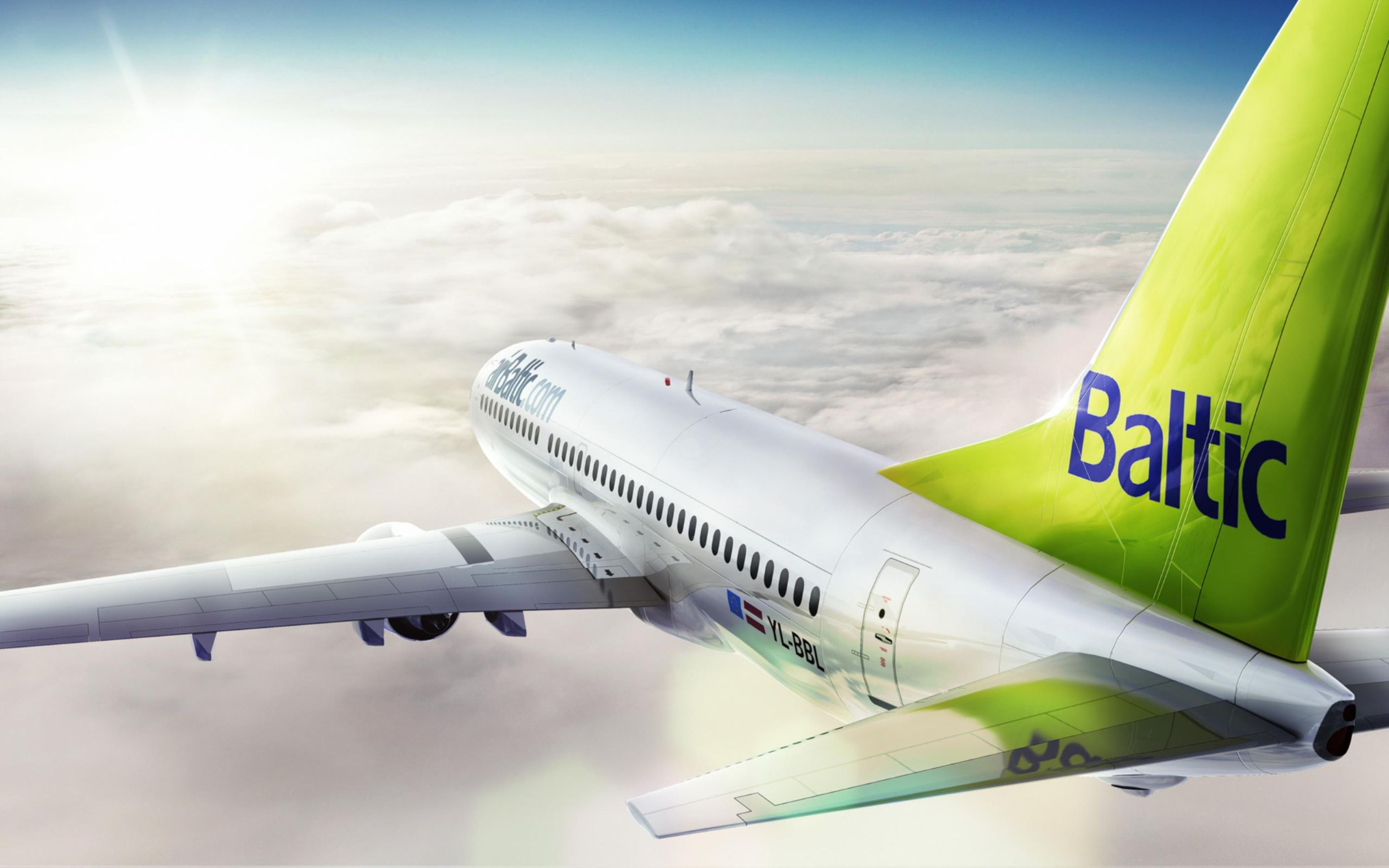 Download free HD Airbaltic Airplane Wallpaper, image