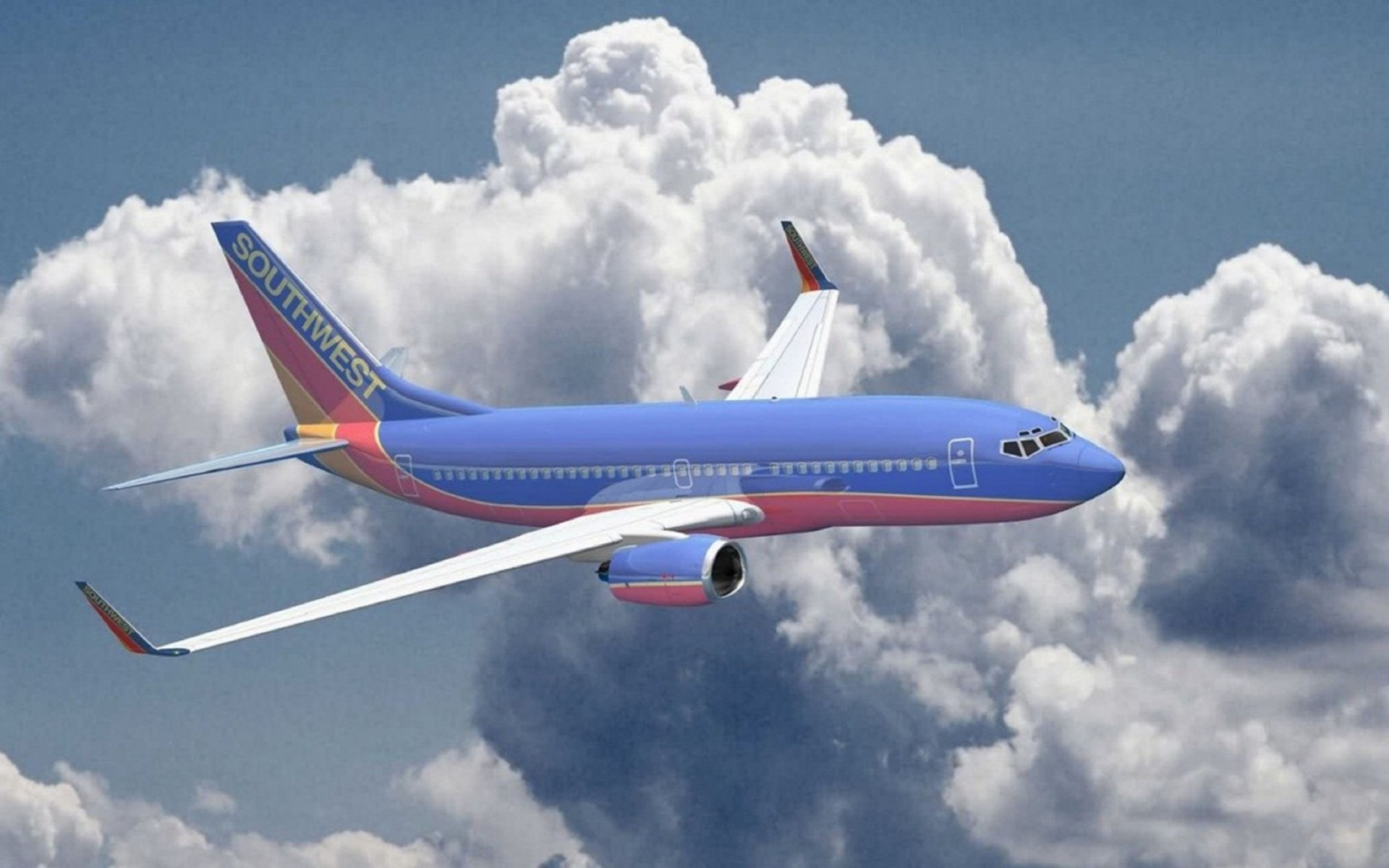 Aircraft Airliners Southwest Airlines Boeing 737 700 Wallpaper