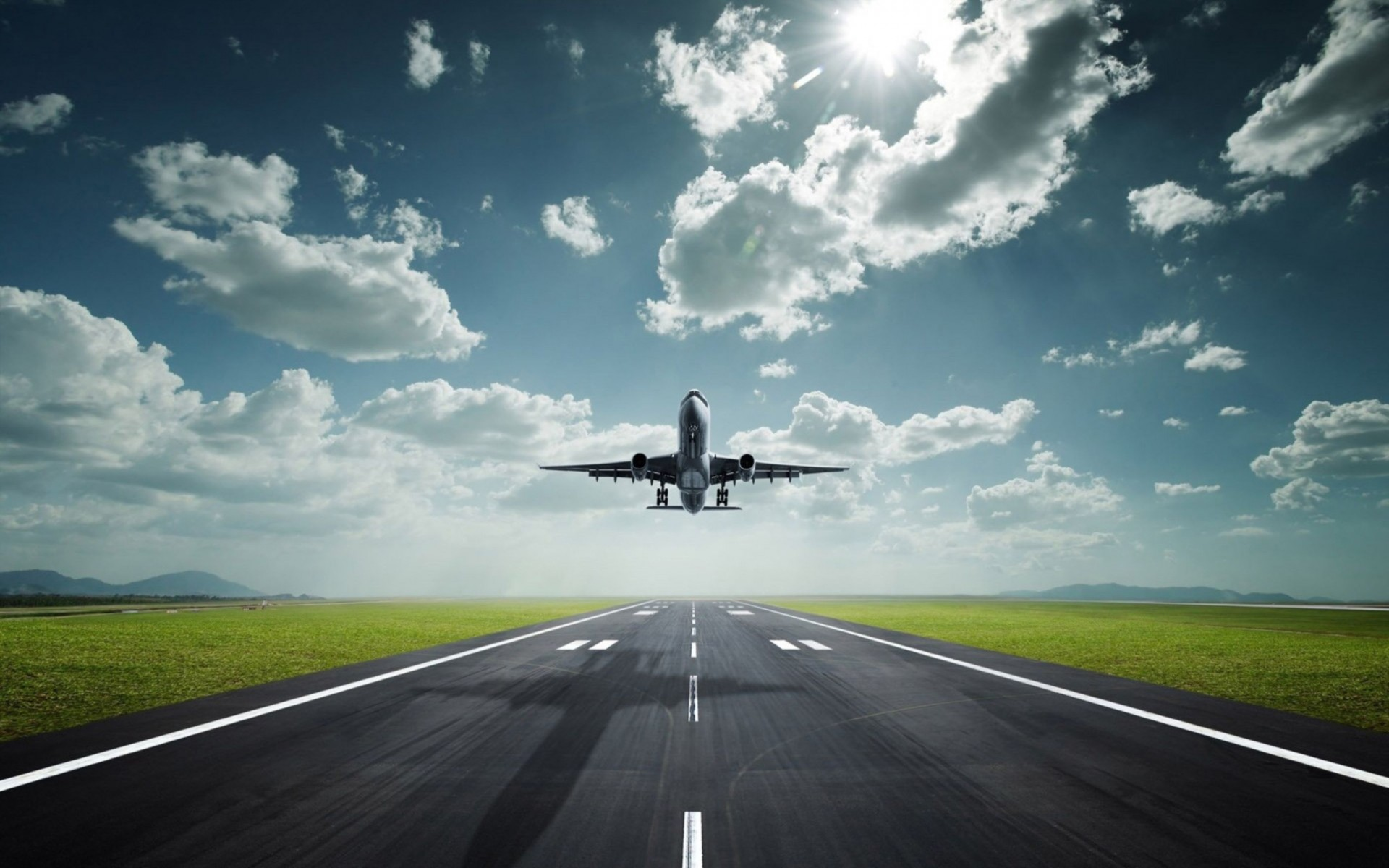 Aircraft Take Off Wallpaper