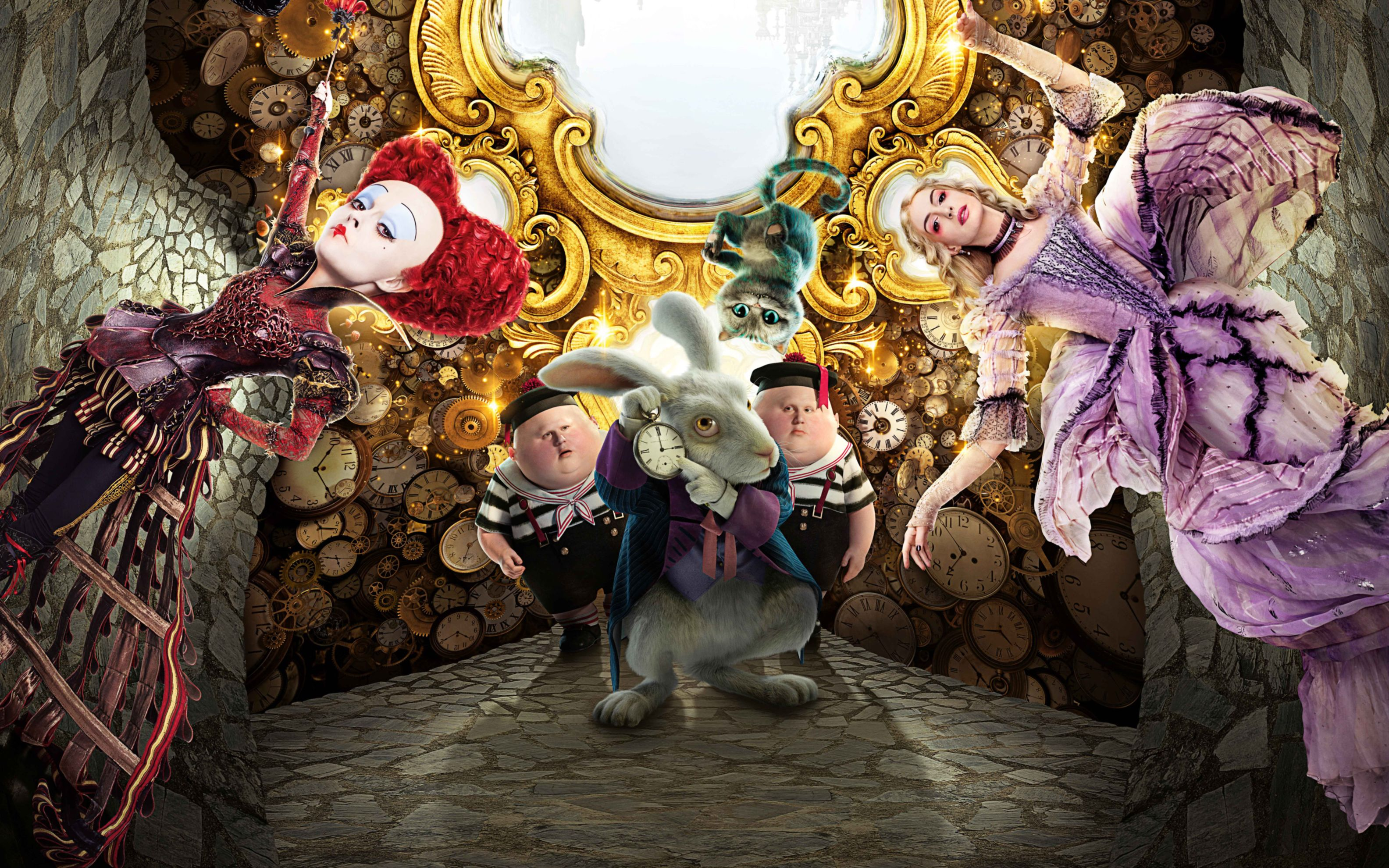 Download free HD Alice Through The Looking Glass Movie Wide Wallpaper, image