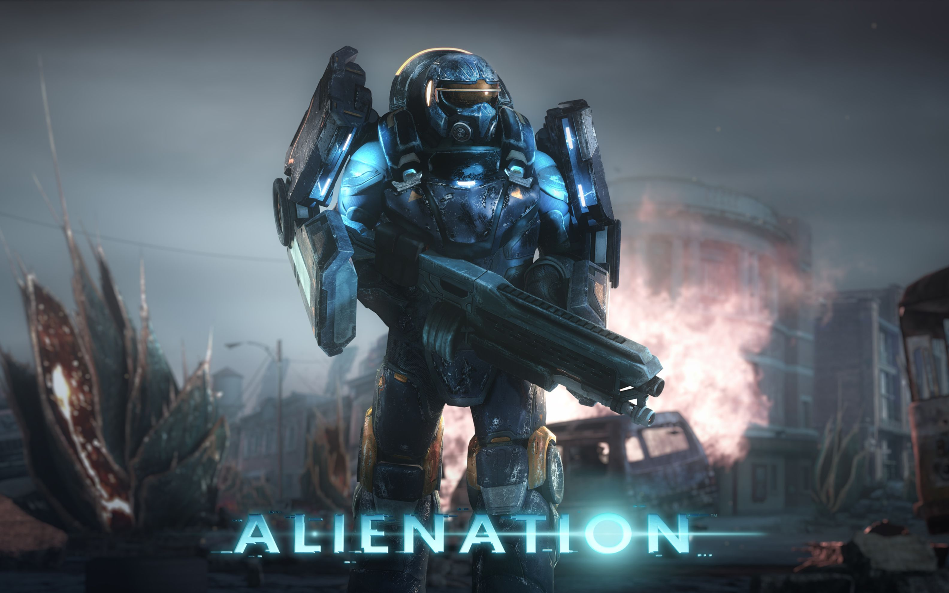 Download free HD Alienation Ps4 Game 4k 8k Wide Wallpaper, image