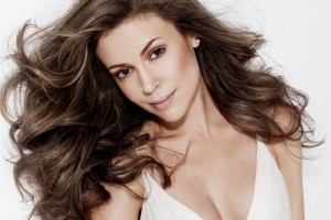 Alyssa Milano High Quality Normal Wallpaper