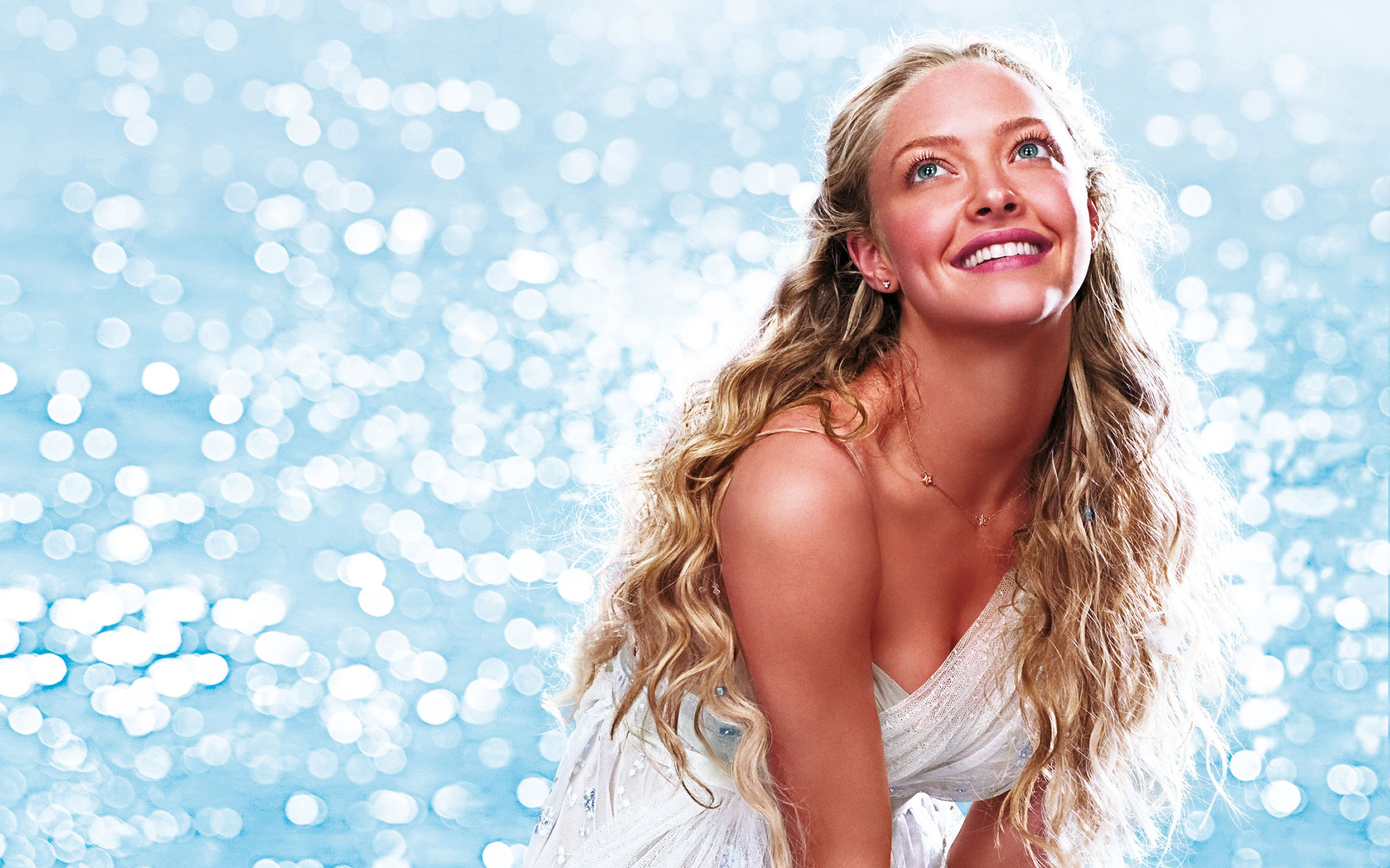 Download free HD Amanda Seyfried Mamma Mia 2 Wide Wallpaper, image
