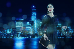 Andresa Alves Night City Wallpaper
