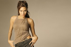Angelina Jolie Widescreen Wide Wallpaper