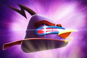 Angry Bird Space 3d Wallpaper