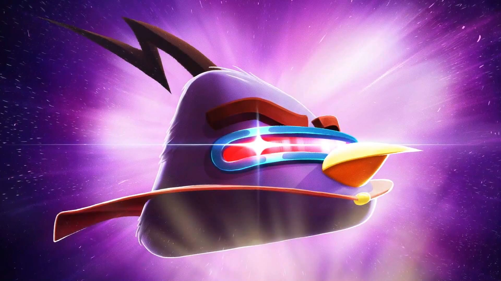 Download free HD Angry Bird Space 3D Wallpaper, image