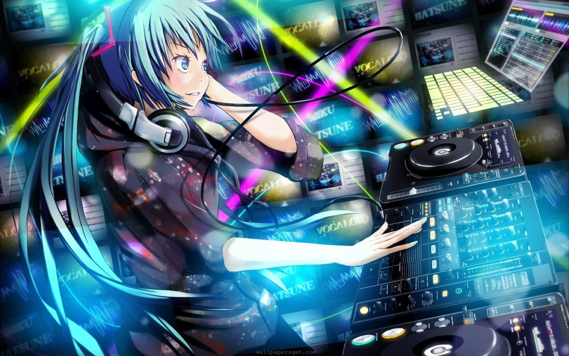 Anime Dj Music  Wallpaper