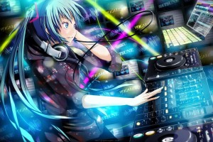 Download Anime Dj Music  Wallpaper Free Wallpaper on dailyhdwallpaper.com