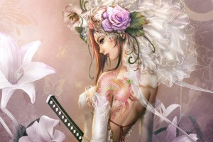Download Anime Girl Tattoos  Free DownloadWallpaper Free Wallpaper on dailyhdwallpaper.com