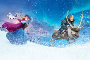 Anna Kristoff In Frozen Wide Wallpaper