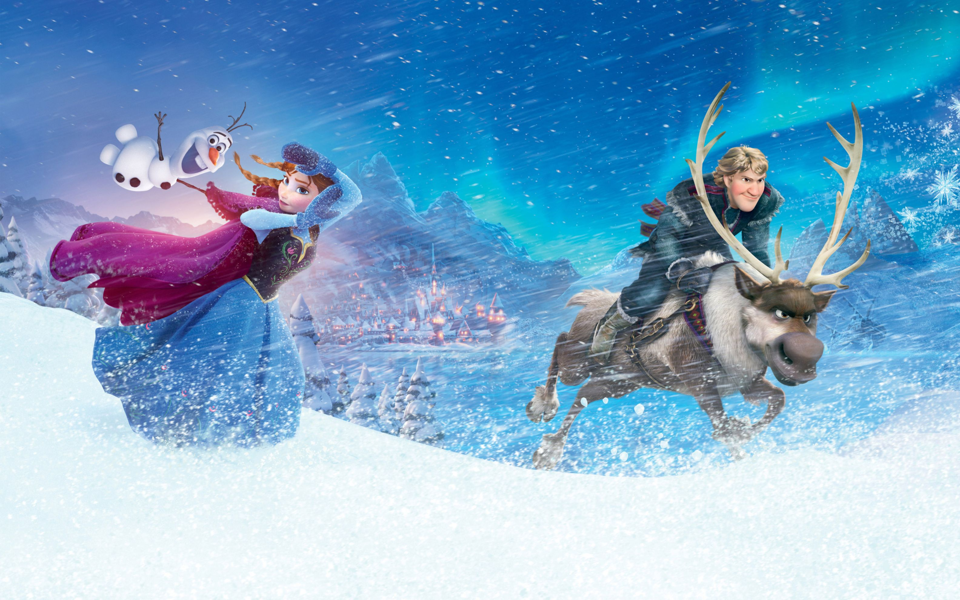 Download free HD Anna Kristoff In Frozen Wide Wallpaper, image