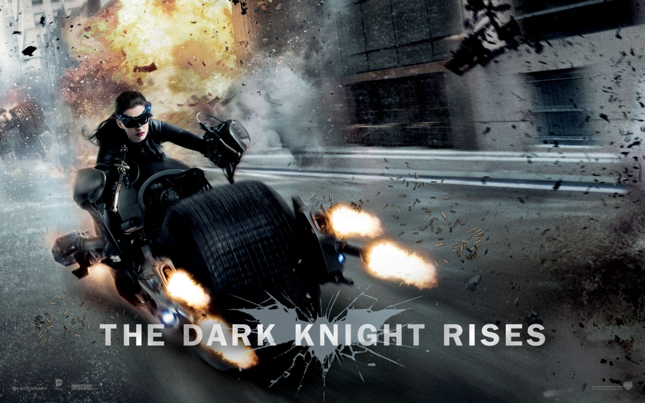 Download free HD Anne Hathaway in Dark Knight Rises Wide Wallpaper, image