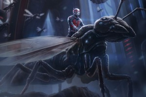 Download Ant Man Artwork Wide Wallpaper Free Wallpaper on dailyhdwallpaper.com