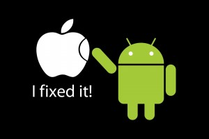 Apple Funny Wallpaper