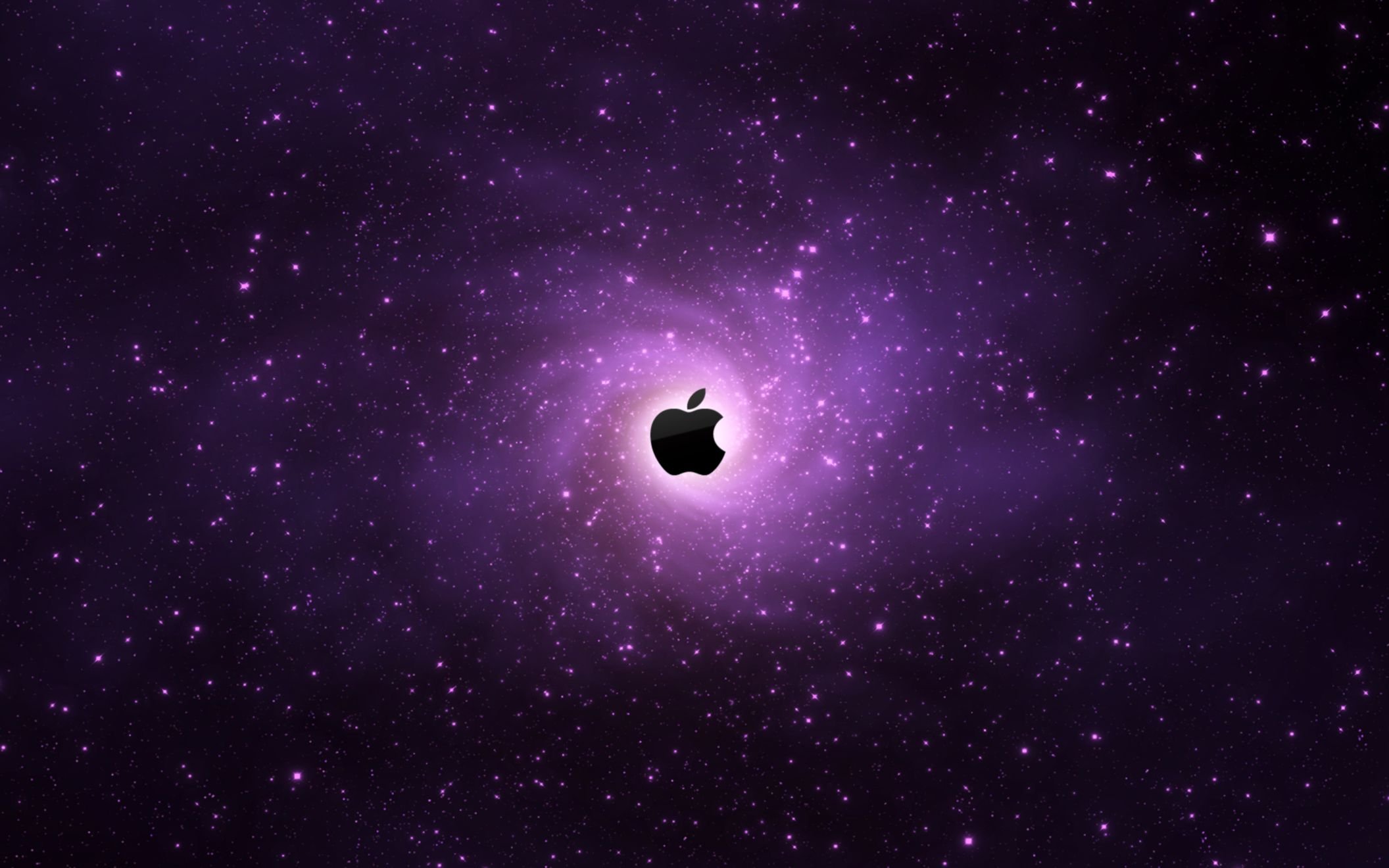 Download free HD Apple Logo Dark Wide Wallpaper, image