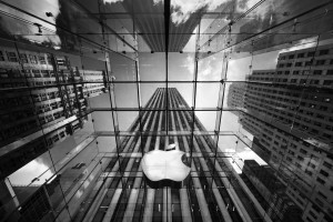 Apple Store New York Wide Wallpaper