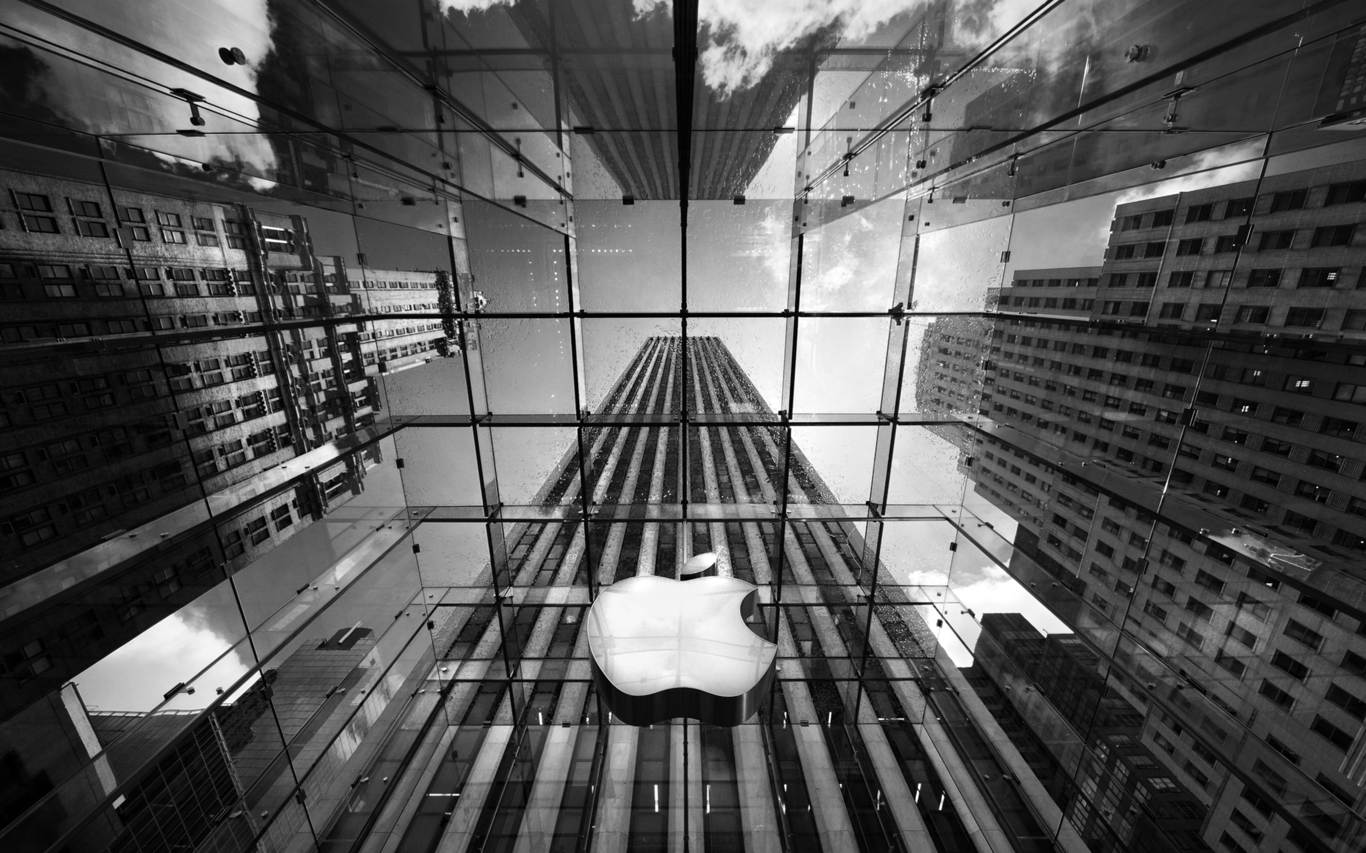 Download free HD Apple Store New York Wide Wallpaper, image