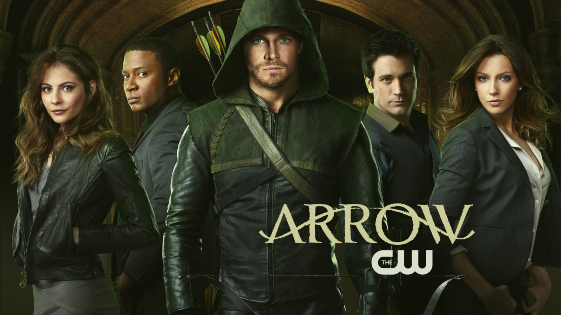 Arrow CW TV Show HD Wallpaper