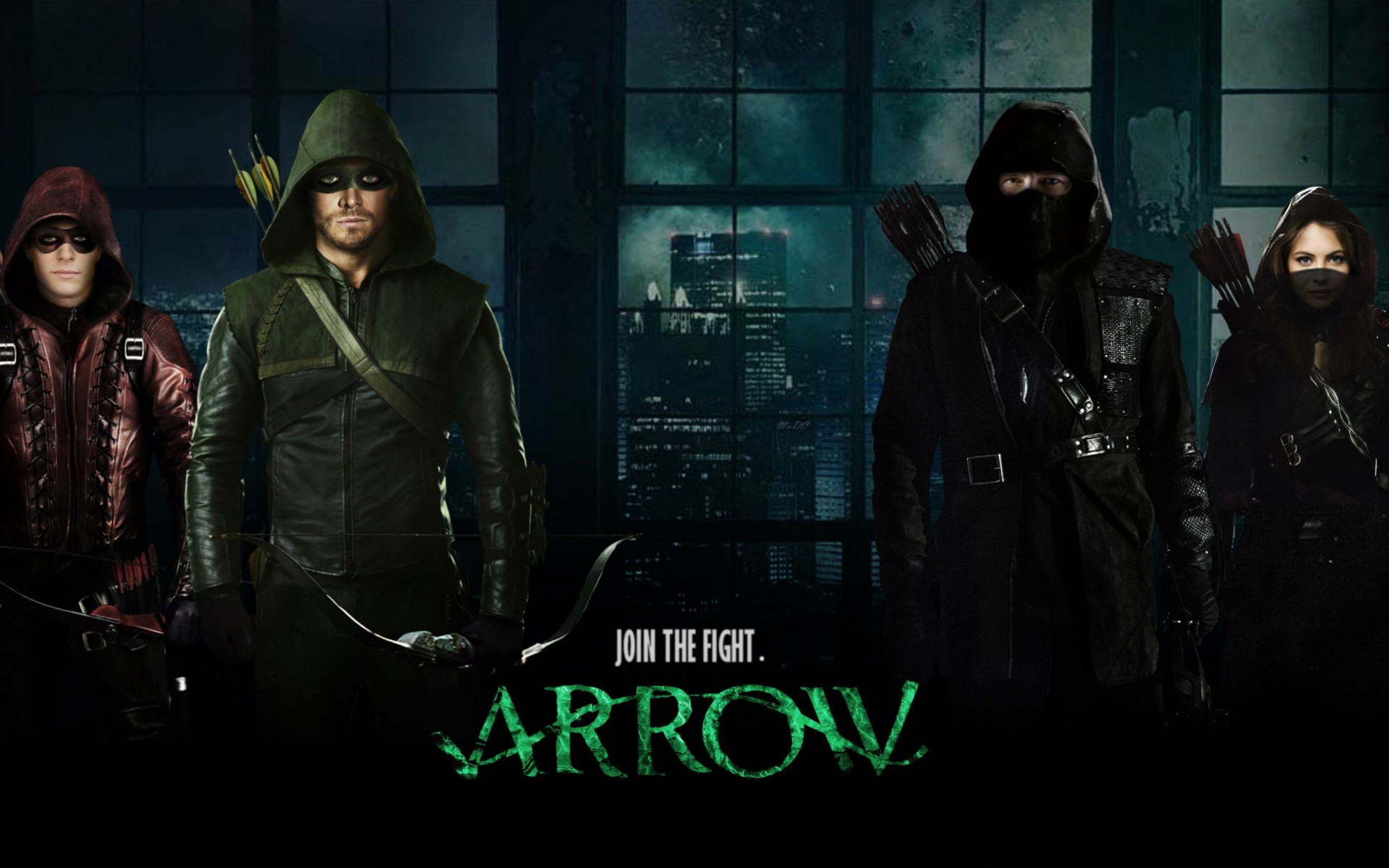 Arrow Season 3 2014 Wide Wallpaper